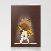 Teddy Mercury Stationery Cards
