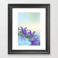 Tender Blue 5 Framed Art Print