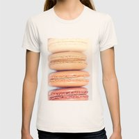 {Delectable} Womens Fitted Tee Natural SMALL
