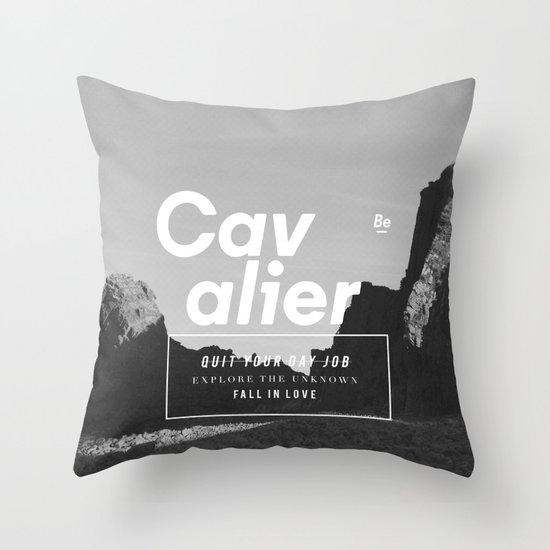 The Cavalier Throw Pillow