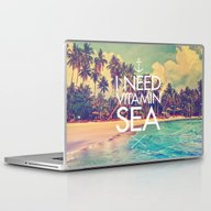 I Need Vitamin Sea Laptop & iPad Skin