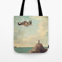 City Kite Afternoon Tote Bag