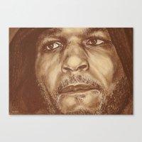round 4...bernard hopkins Canvas Print