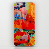 Color Bubble Storm iPhone & iPod Skin
