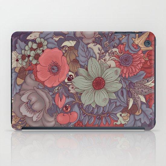 the wild side - dusty tones iPad Case