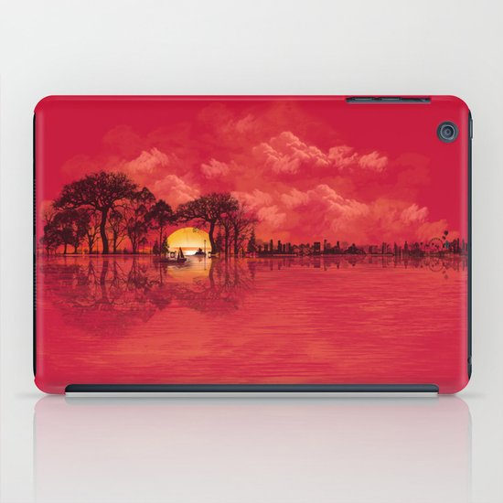Musical Sunset iPad Case