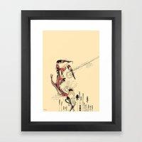 beija-flor Framed Art Print