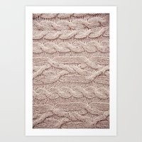Sweater Art Print