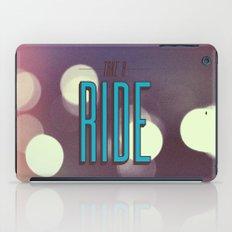 Take A Ride iPad Case