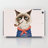 Sailor Cat V iPad Case