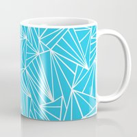 Ab Fan Electric Blue Mug
