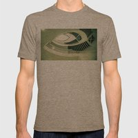 Teardrop Stairs Mens Fitted Tee Tri-Coffee SMALL