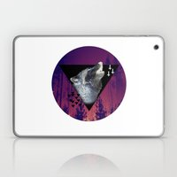 Witchy Wolf Laptop & iPad Skin