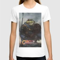 A knightly Frog  Womens Fitted Tee White SMALL