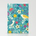 Garden Birds Stationery Cards