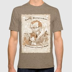Autoportrait Mens Fitted Tee Tri-Coffee SMALL