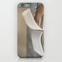 Libro y otoño.  iPhone 6 Slim Case