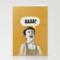 AAAA! (Golden) Stationery Cards
