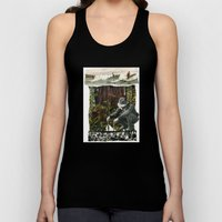 Surfing The History Of Trees Unisex Tank Top