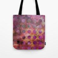 Galaxy In Purple Tote Bag