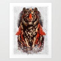 Tiger  Tiger  Tiger Art Print