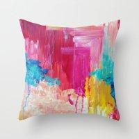 ELATED - Beautiful Brigh… Throw Pillow