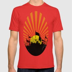 Seventh Son of the Seventh Son Mens Fitted Tee Red SMALL