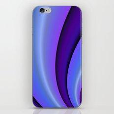 Purple Twist iPhone & iPod Skin