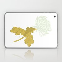 Ghost Flower Laptop & iPad Skin