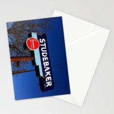 STUDEBAKER LOT SIGN Stationery Cards