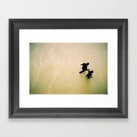 Dance For Two  Framed Art Print