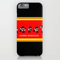 iPhone & iPod Case featuring 8-bit Andres 5 pose v2 by Cesar Cueva
