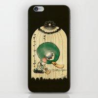 Chinese Idiom: Sitting D… iPhone & iPod Skin