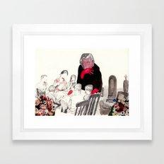 Picnic at Walpurgisnacht Framed Art Print