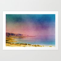 Dreamy Dead Sea IV Art Print