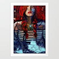 NEIRED (TWO) Art Print