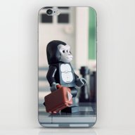 iPhone & iPod Skin featuring Power Suit by Powerpig
