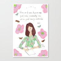 Do More - Zig Wisdom Ins… Canvas Print
