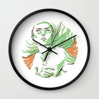 Summer Girl 3 Wall Clock