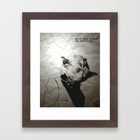 Unreal Party Yoda Framed Art Print
