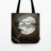 Aviator Girl (Steampunk) Tote Bag