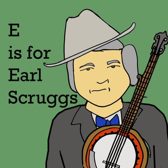 Earl Scruggs Canvas Print