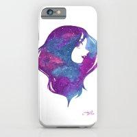 galactic hair iPhone 6 Slim Case