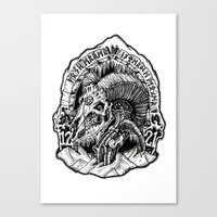 Horde Canvas Print