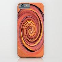 Peach Twirl iPhone 6 Slim Case