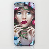 iPhone & iPod Case featuring The Wild Rose by Jessica Prando