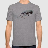 Anteater Mens Fitted Tee Athletic Grey SMALL