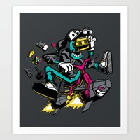 JOY RIDE! Art Print