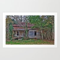 Old Abandoned House Art Print
