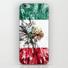 Mexico Flag - Extrude iPhone & iPod Skin